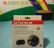 Diono SUN STOPPERS 2 PACK Car Seat/Travel Accessory Baby/Child Sunshine Kids