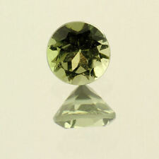 Natural Green Tourmaline 4.6mm Round .43ct (One of a Kind Stone)
