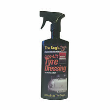 The Dogs Car Valeting Kit Seals and Protects Long Life Tyre Dressing 500ml