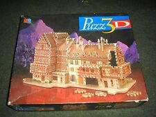 BAVARIAN MANSION PUZZ3D AVERAGE DIFFICULTY 418 PIECES BOXED (NO INSTRUCTIONS)