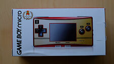 Gameboy Micro Limited Edición 20th Anniversary Famicom