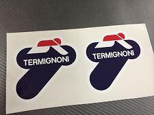 2 Adesivo Stickers TERMIGNONI resistente al calore 8,5 cm