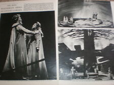 Photo article opera Wagner The Ring Covent Garden London 1964