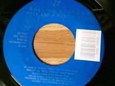 "THE ROLLING STONES 45 RPM ""Rock and a Hard Place"" ""Cook Cook Blues"" VG+ Cond."