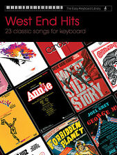Easy Keyboard Library West End Hits Musicals BEGINNER SONGS FABER Music BOOK