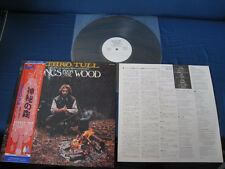 Jethro Tull Songs from The Wood Japan Promo White Label Vinyl LP Ian Anderson