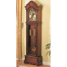 Coaster 900749 - Grandfather Clocks Traditional with Chime Brown