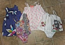 LOT - INFANT & TODDLER GIRLS CLOTHING - BABY GAP/CARTERS/BABY PHAT - MIXED ITEMS