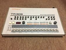 Roland TR-909 Transistor Rhythm Composer Analog Drum Machine.