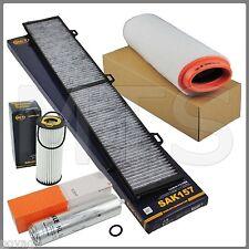 großes Filterset Inspektionspaket für BMW 1er E81 E87 118d 122PS 120d 163PS