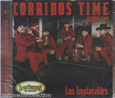 EL NUEVO Los Tucanes De Tijuana CD NEW Corrido Time Season TWO **** BRAND NEW