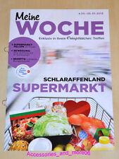 Weight Watchers Meine Woche 20.01.2013 - 26.01.2013 ProPoints™ Plan 360° *2013*