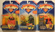 Animated SUPERMAN Figures X-RAY VISION SUPERMAN, LEX LUTHOR & ELECTRO ENERGY MOC