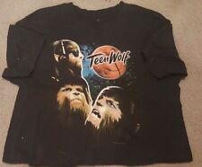 Teen Wolf Movie Collage Michael J. Fox T-Shirt Mens L Large 100% Cotton