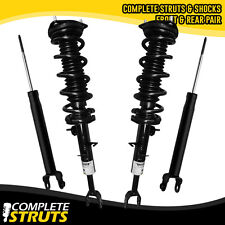 Complete Struts w/ Coil Springs & Rear Shocks for 06-07 Infiniti G35 Coupe