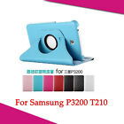 360 Rotating Leather Case Cover For Samsung Galaxy Tab 3 7.0 T210 P3200 P3210