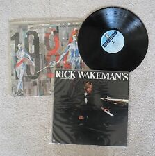 Rick Wakeman records from Yes on Vinyl x2 albums LP