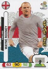 WAYNE ROONEY # STAR PLAYER ENGLAND CARD PANINI ADRENALYN EURO 2012