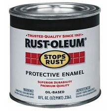 Rust-Oleum 7775730 1/2-Pint 8-Ounce Protective Enamel, Gloss Leather Brown *