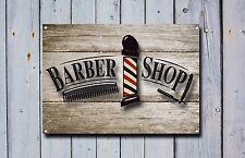 Barber Shop Sign, Metal Sign, Barber Shop Signs, Vintage Style, Barbers Sign 862