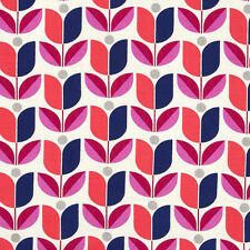 Joel Dewberry Fabric - Flora - Tulips - Orchid - Cotton - 1 Metre - Quilting