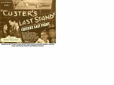 Custer's Last Stand - Cliffhanger Serial Movie DVD Rex Lease
