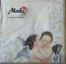 20 x PAPER NAPKINS PACK TABLE  PARTY  LUNCH- VINTAGE ANGEL -71