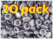 12MM CLOSED GROMMETS - 20 PACK