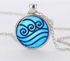Avatar the Last Airbender, Legend of Korra Water Tribe Glass Necklace