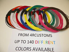 5 FEET AUTOMOTIVE  WIRE 12 GAUGE  GXL WIRE TEN COLOR CHOICES U PIC FREE SHIPPING
