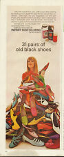 1968 Vntage ad for Instant Shoe Coloring by Lady Esquire ~Shoes/Colors