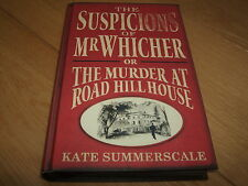 KATE SUMMERSCALE-THE SUSPICIONS OF MR WHICHER-SIGNED-1ST SPECIAL-HB-2009-NF-RARE