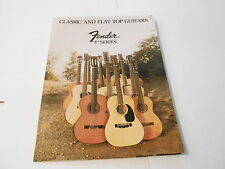 VINTAGE MUSICAL INSTRUMENT CATALOG #10113 - 1972 FENDER GUITARS