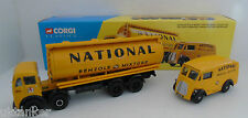 New Corgi 31002 Foden FG Cylindrical Tanker & Morris J Van for National Benzole