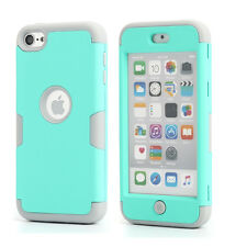 Hybrid Shockproof High Impact Rubber Slim Hard Case Cover for iPod Touch 6 Gen