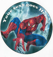 Spiderman  Edible Photo Rice Paper cake Topper