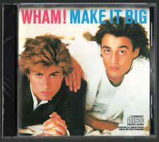 Wham - Make It Big (CD) • NEW • George Michael, Wake Me Up, Freedom