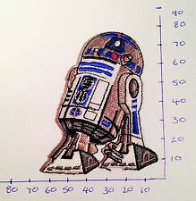 Star Wars R2D2 Iron On Patch/Badge Embroidered Fancy Dress #20