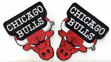 Chicago Bulls Patch Aufnäher 2 Stück USA Basketball NBA Air Jordan NEU