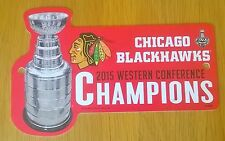 Chicago Blackhawks NHL 2015 Stanley Cup Western Conference Champions 1ft Sign
