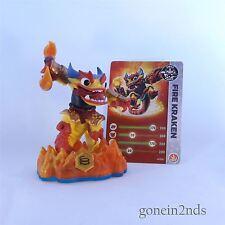 Skylanders Swap Force Fuego Kraken Intercambiables + tarjeta de trampa Equipo Y Compresores