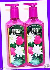 2 Bath & Body Works JUNGLE PASSION FRUIT Deep Cleansing Hand Soap POMEGRANATE