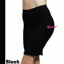 Women Sexy Mini Skirt Seamless Stretch Tight Fitted Short Bodycon Dress Skirt