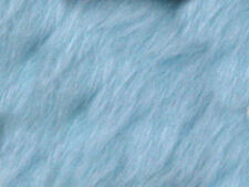 Baby blue plain Faux Fur Fabric Short Hair 150cm Wide SOLD BY THE METRE