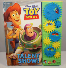 "2010 Talent Show 13"" Sound FX Board Book Disney Toy Story by Play-A-Sound"