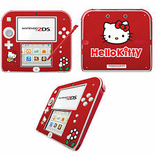 Hello Kitty Vinyl Skin Sticker for Nintendo 2DS - Red