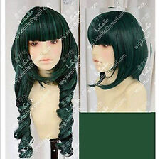 Dead Master DM Styled Cosplay Hair Wig Black Rock Shooter Synthetic Wigs NEW