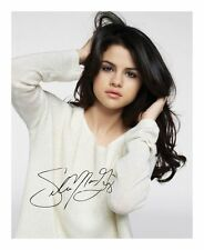 SELENA GOMEZ AUTOGRAPHED SIGNED A4 PP POSTER PHOTO 2