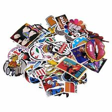 100 pcs mix Stickers Skateboard Sticker Graffiti Laptop Luggage Vinyl Car Decals