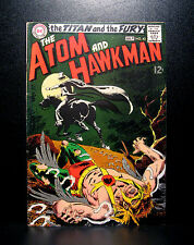 COMICS: DC: The Atom & Hawkman #43 (1969), origin & 1st SA Gentleman Ghost app